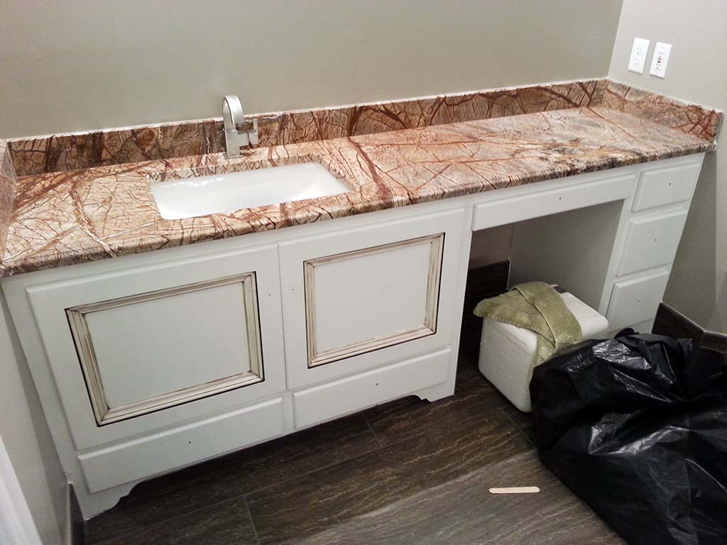 Cafe Rainforest Marble Vanity