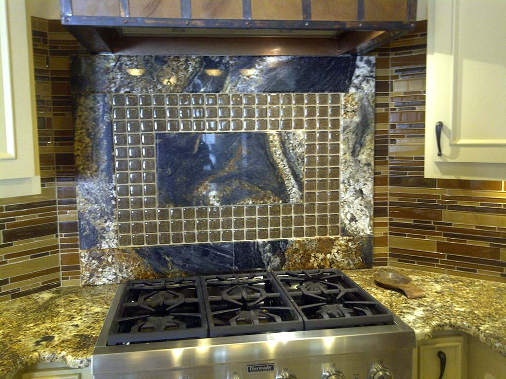Star Beach Granite & Custom Stove Splash