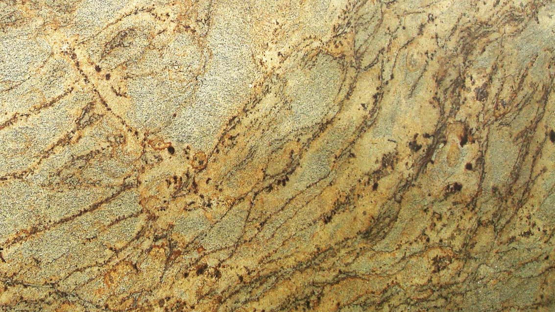 Golden-Crystal Exotic Granite