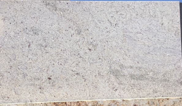 3cm River White Exotic Granite - Leathered