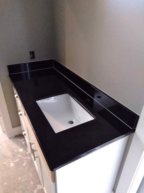 2cm Absolute Black Granite with Trough UM Sink_LFontenotBath1