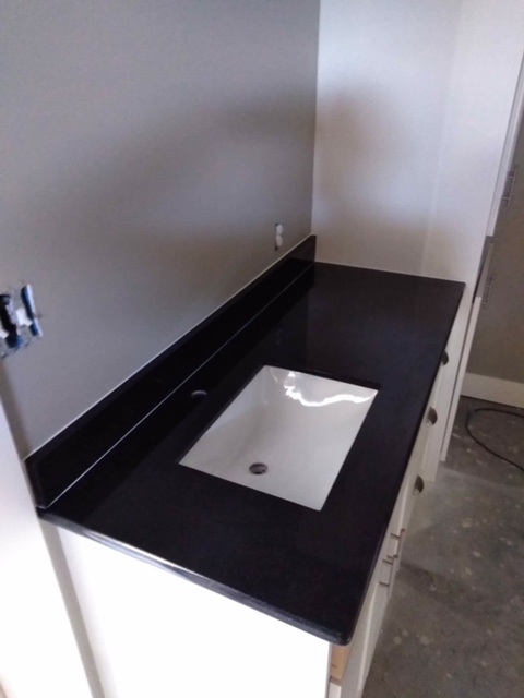 2cm Absolute Black Granite with Trough UM Sink_LFontenotBath3