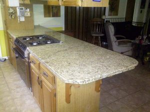 Countertop with Bar